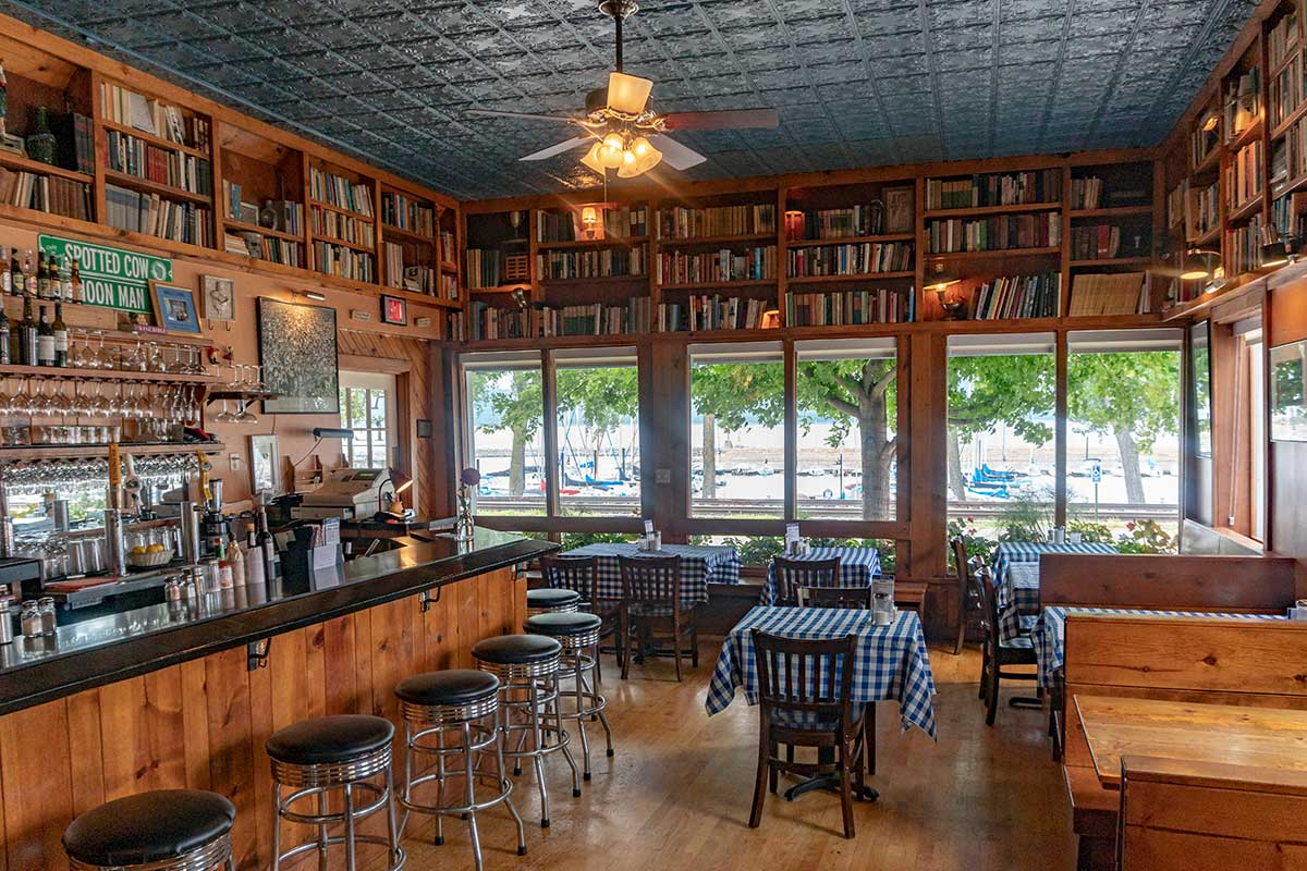 Harbor View Cafe Interior