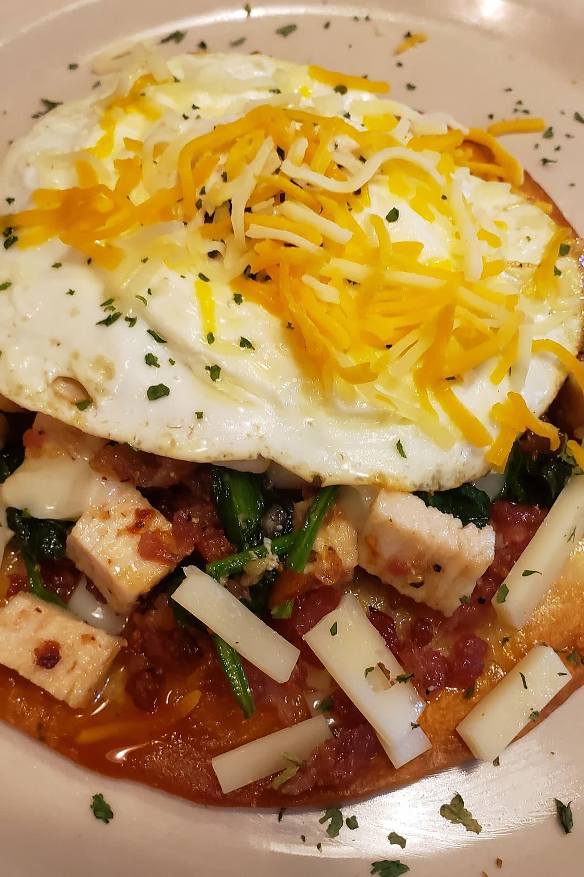 Homemade Cafe Breakfast